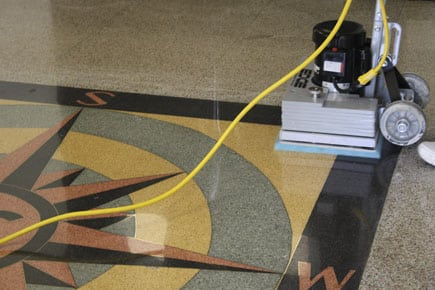 77-EDGE-stick-floor-machine-terrazzo-floor-polishing